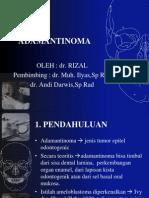 Adamantinoma - Rizal (PP)