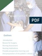Preoperative Care