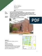 1624 Dolman Avenue_demolition Application