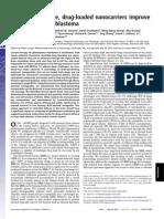 362 167846 2013 Zhou PNAS Nanocarriers Gioblastoma