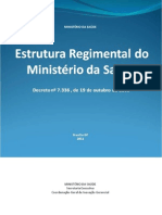 Estrutura Regimental Ms Decreto 7336