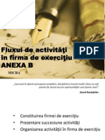 Anexa B Fluxuldeactivitatiinfirmadeexercitiu