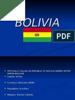 Bolivia and Chile