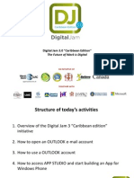 Digital Jam 3.0 - PPTs for the Outreach