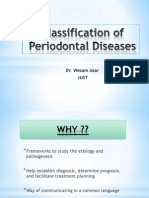 Classfication of Periodontal Examination Charting