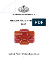 Kerala Health Policy
