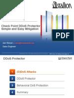 DDos Protector Presentation Ekman Otepaa Stallion