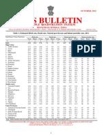 SRS Bulletin-October 2012