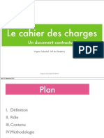 Le Cahier Des Charges