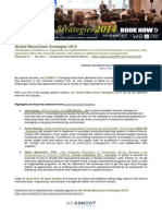 Global ManuChem Strategies 2014