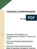 Tema 1_Principii de Baza in Finantele Intreprinderii