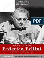 Peter Bondanella the Films of Federico Fellini