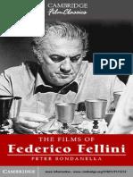 Peter Bondanella the Films of Federico Fellini
