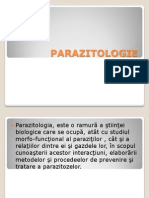 Parazito Logie