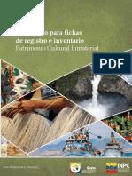 INPC X InstructivoParaFichasDeRegistroInventarioPatrimonioInmaterial