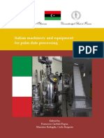 Italian Equipment for Palm Date Processing