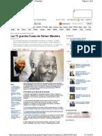 Grandes Frases Nelson Mandela 0