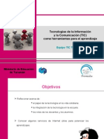 Capacitacion TIC IES a Coviello 2009