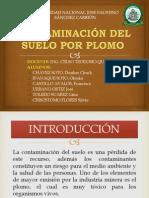 CONTAMINACIÓN DEL SUELO POR PLOMO