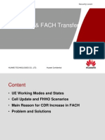 Cell Update FACH State Transfer 1205