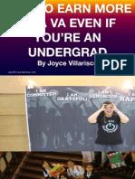 Vasummit Joyce Villarisco How to Earn More as a Va Even if You Are an Undergrad