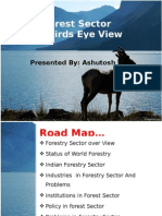Forestry  Sector Analysis of India (Paper and NTFP Sub  Sector Analysis)