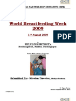 Madhya Pradesh World Breast Feeding Week -2009
