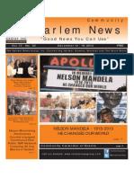 Dec. 12, Harlem News Group, see Bronx p. 29 of 31. Talk on Pure Bronx book