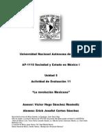 Un. 5 Act. 11 Sociedad y Estado en Mexico i Erick Josafat Cortes Sanchez