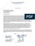 Letter to OMB Re Social Cost of Carbon