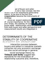 Buyer Seller Relationship