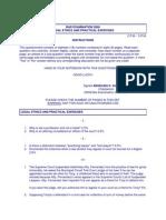 Bar Examination 2006-2010