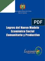 Logros del Modelo Económico Social Comunitario Poductivo - Bolivia