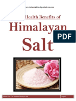 Himalayan Salt Health Benefits