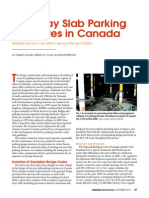 Two-Way Slab Parking Structures in Canada; Multiple Factors Can Affect Service Life and Safety by Hassan Aoude, William D. Cook, And Denis Mitchell