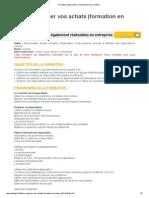 Formation négociation _ achat (session en centre)
