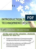 Chapter 1 - Intro Technopreneurship