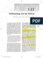 Anthropology and the Political