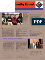 Minority Affairs Newsletter March.