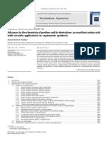 Review de L-prolina y Sus Derivados en Sintesis Asimetrica
