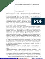 Oteiza E - Dimensiones políticas de las política científica y tecnológica