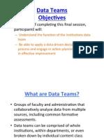 data teams- day 2