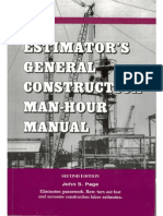 Estimator's General Construction Man-hour Manual b.2