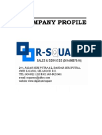 R Square Sales Profile1