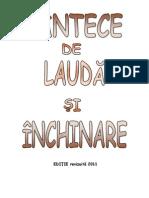 Cantece de Lauda Si Inchinare