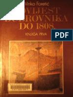 Povijest Dubrovnika do 1808. I