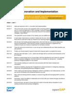 OpenSAP BIFOUR1 Week 01 Transcripts