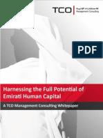 Harnessing the Full Potential of Emirati Human Capital_January 2012