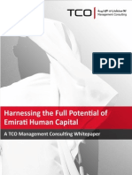 Harnessing the Full Potential of Emirati Human Capital_January 2012