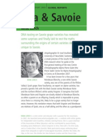 Jura and Savoie Chapter from Wine Report 2009